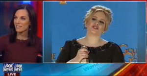 fox news keren gilbert kelly clarkson adele