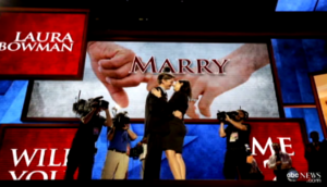 couple engaged at RNC