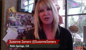 suzanne somers on huffpo live