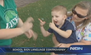 deaf 3-year-old