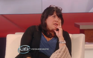 e.l. james on katie couric