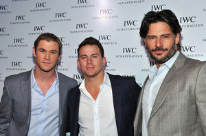 joe manganiello, channing tatum, chris hemsworth