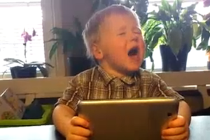 3-year-old sings gotye