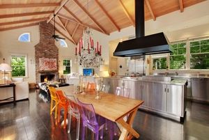 kelly bensimon kitchen colorful chairs