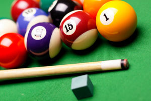billiard table billiard balls