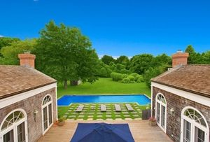 kelly bensimon east hampton home swimming pool