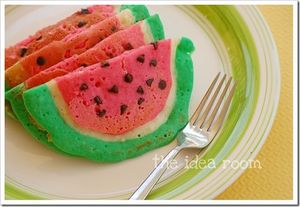 watermelon pancakes