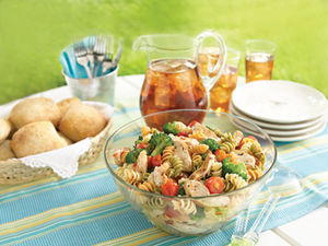 Zesty Potluck Pasta Salad