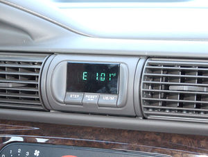 car temperature