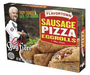 guy fieri pizza eggrolls