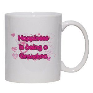 happiness is being a grandma mug