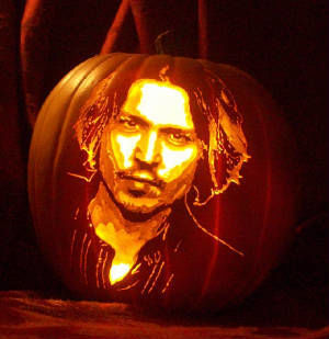 pumpkin johnny depp
