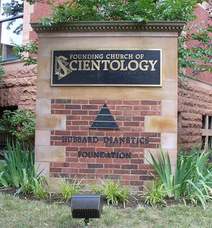 Scientology sign