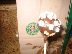 Starbucks Cake Pop