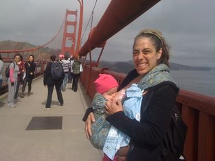 Breastfeeding on the GGB