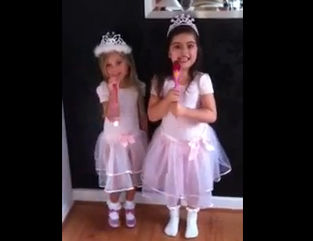 sophia grace brownlee sings nicki minaj
