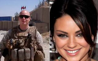 us marine and mila kunis