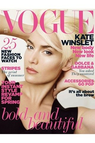 Kate Winslet British Vogue cover
