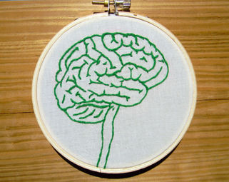 embroidered brain