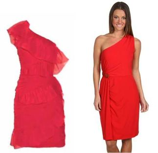 Hunger Games Katniss red dress