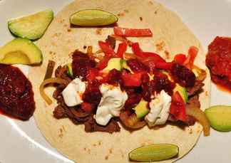 beef fajitas