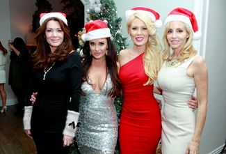 real housewives holiday party