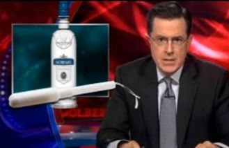 stephen colbert vodka tampon