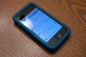 facebook on an iphone