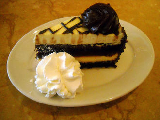 cheesecake at cheesecake factory
