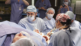Grey's Anatomy arm transplant
