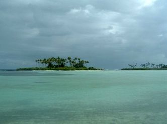 kiribati in the south pacific