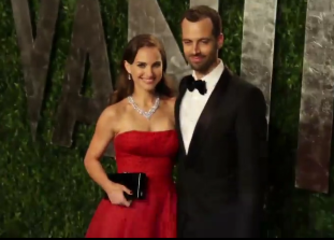 natalie portman and benjamin millepied red carpet