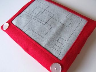 Etch a Sketch Laptop Case