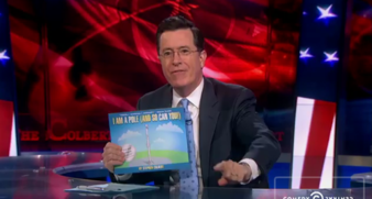 stephen colbert children's book