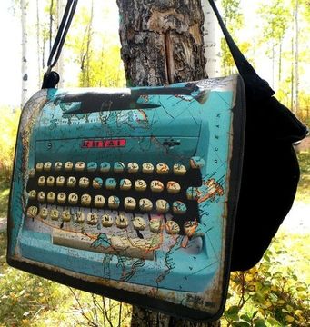 map laptop bag