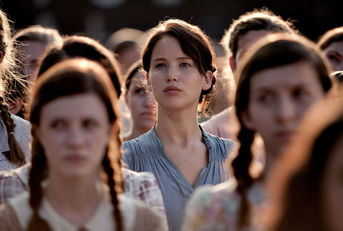 Katniss Hunger Games reaping Jennifer Lawrence