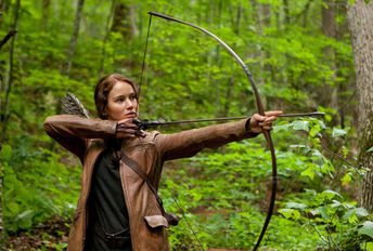 Katniss Hunger Games bow arrow
