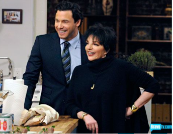 Rocco DiSpirito and Liza Minnelli