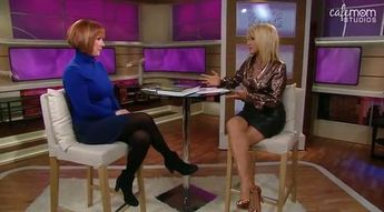 suzanne somers talks to brenda watsona bout poop