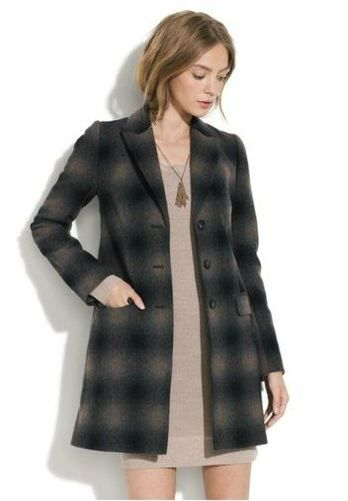plaid passporter jacket