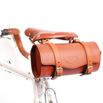saddle bag bike bag leather
