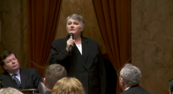 Maureen Walsh speaks to Washington legislature about gay marriage