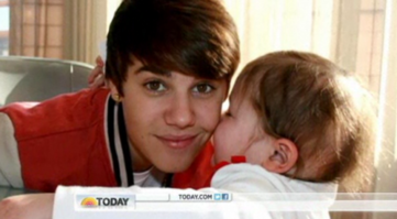 Justin Bieber and Avalanna Routh