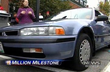 honda one million miles