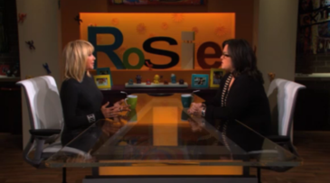 Suzanne Somers talks about mammograms with Rosie O'Donnell
