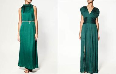 Zara Emerald Green Dresses