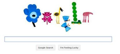 google doodle spring