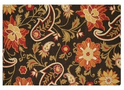 wool rug floral