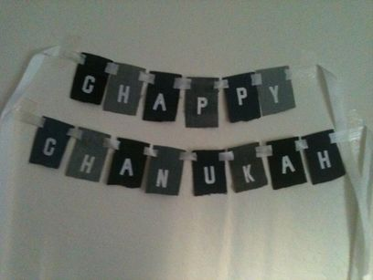 Chanukah Holiday Banner