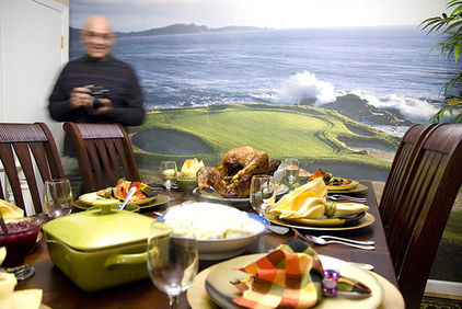 thanksgiving table golf wallpaper